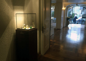 Bissacco Gioielli - vetrina espositiva presso l'Albergo Al Sole di Asolo