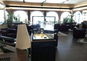 Bissacco Gioielli - vetrina espositiva presso il Golf Club di Asolo